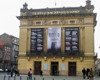 Teatro Nacional de São João - Foto AntoniusJ/WikimediaCommons