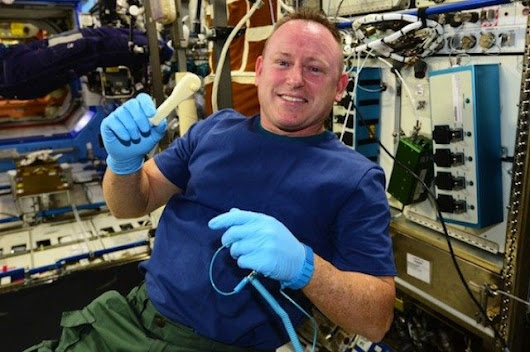 NASA Just Emailed A Wrench To The International Space Station