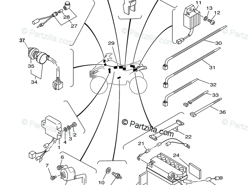Yamaha Atv Wiring Diagram For Starter