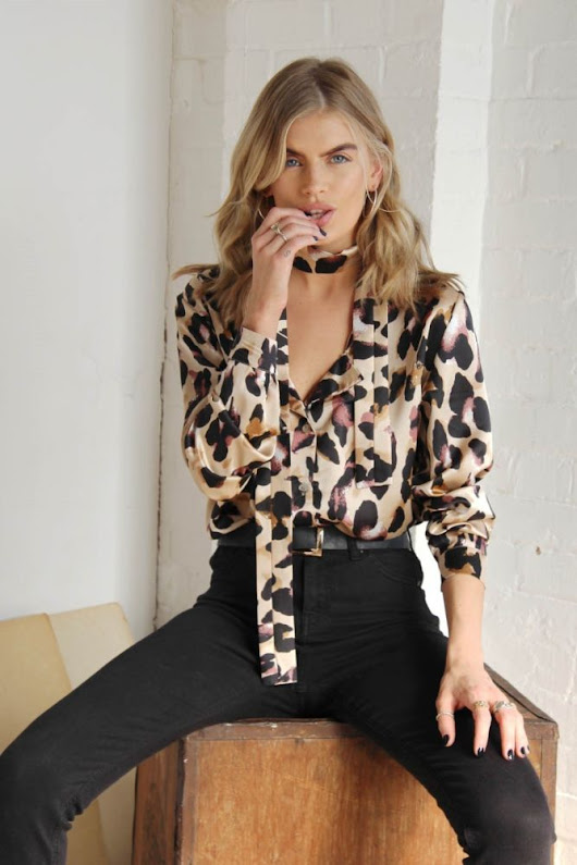 Never Fully Dressed Leopard Chester Shirt