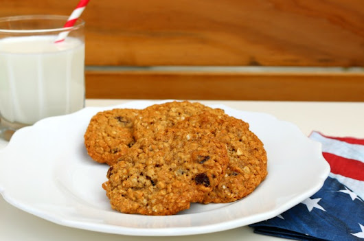Kid Approved! Oatmeal Raisin Cookie Recipe - The Funny Mom Blog