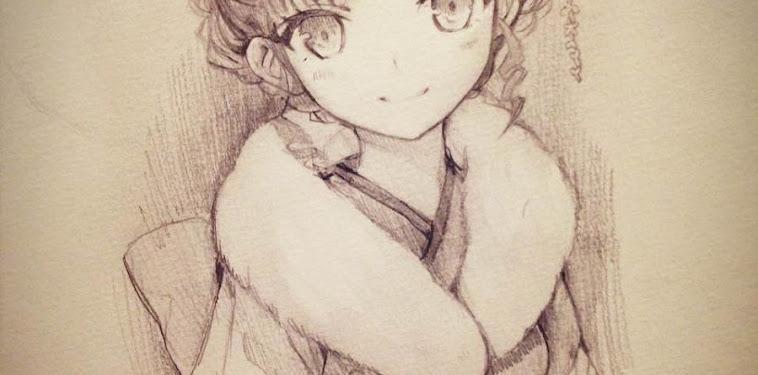 Pencil Kawaii Cute Anime Girl Drawings