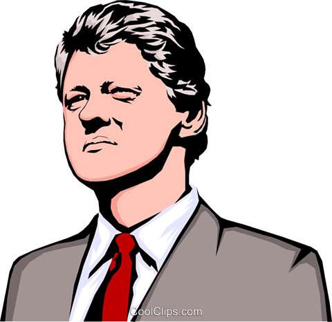 Image result for bill clinton clip art images