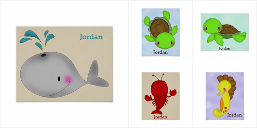 Personalized Kid's Poster Collection