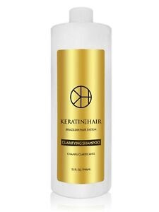Keratin For Hair Clarifying PreTreatment AntiResidue Detoxifying Shampoo 32 oz eBay
