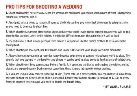 The Wedding Filmer reveals hacks to shoot the perfect