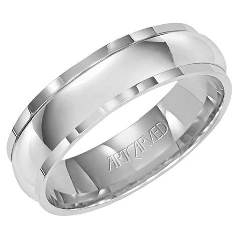 Cheap Mens White Gold Wedding Bands   Wedding and Bridal