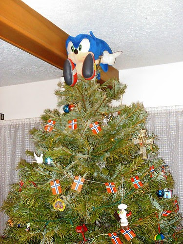 Sonic the Hedgehog--Christmas presence!