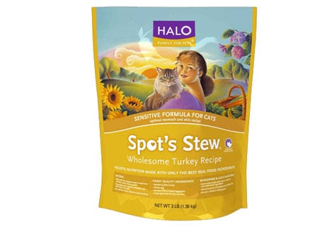 Halo Recalls Select Bags of Cat Food