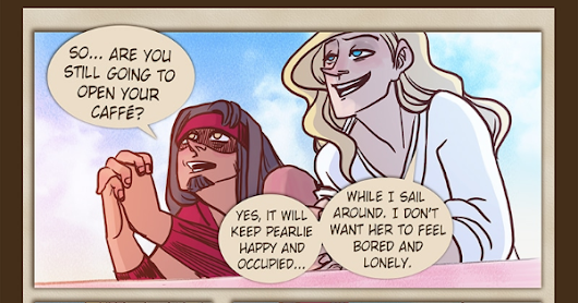 The Pirate Balthasar :: Zizak and Pearlie - page 120 | Tapas