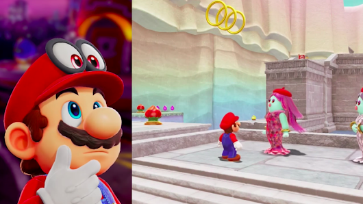 Super Mario Odyssey Player Beats Game Without Jumping