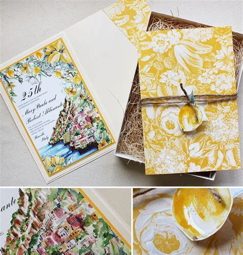 Rob A.   Hand Painted Lemon Wedding AccessoriesMomental