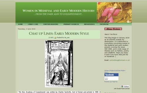 Women in Medieval and Early Modern History