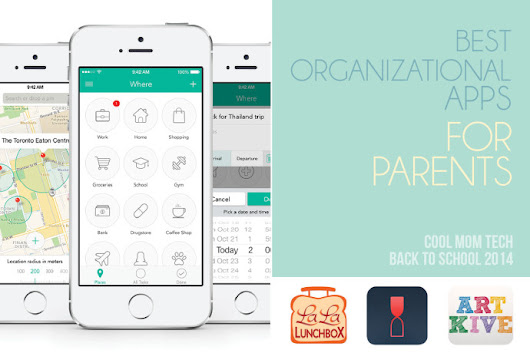 10 of the best organizational apps for parents