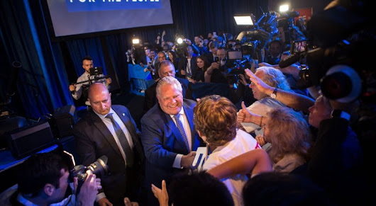 Centrism is dead. Doug Ford's victory in Ontario just proves it. - Macleans.ca