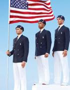 Le divise degli atleti americani