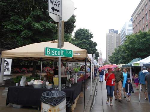 rainy biscuit festival