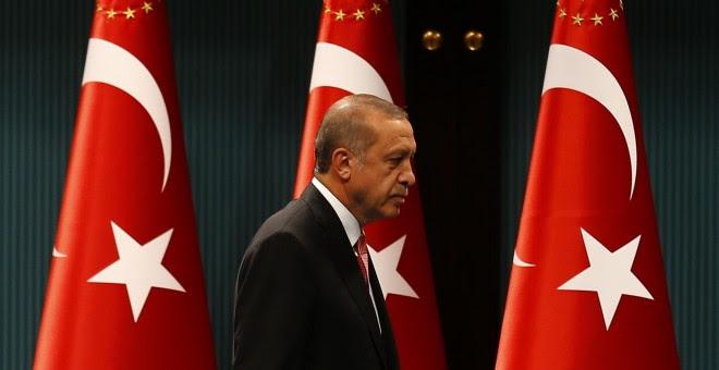 El presidente de Turquía, Tayyip Erdogan. - REUTERS