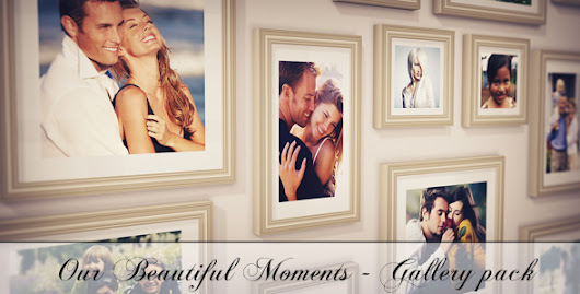 Our Beautiful Moments - Gallery Pack - After Effects Project