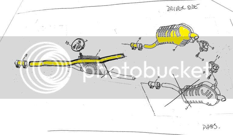 34 2003 Vw Passat Exhaust System Diagram