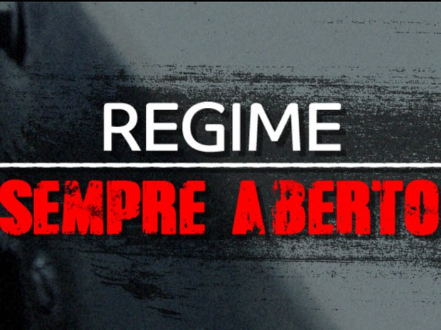 série regime sempre aberto (Foto: Reprodução/G1 RS)