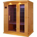 Maxxus 3-Person Carbon Infrared Wood Sauna