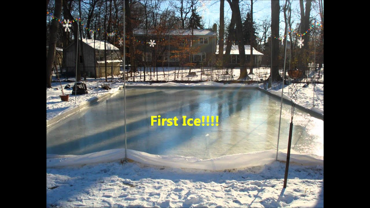 20 Fresh How To Build A Backyard Ice Rink - Get New Home ...