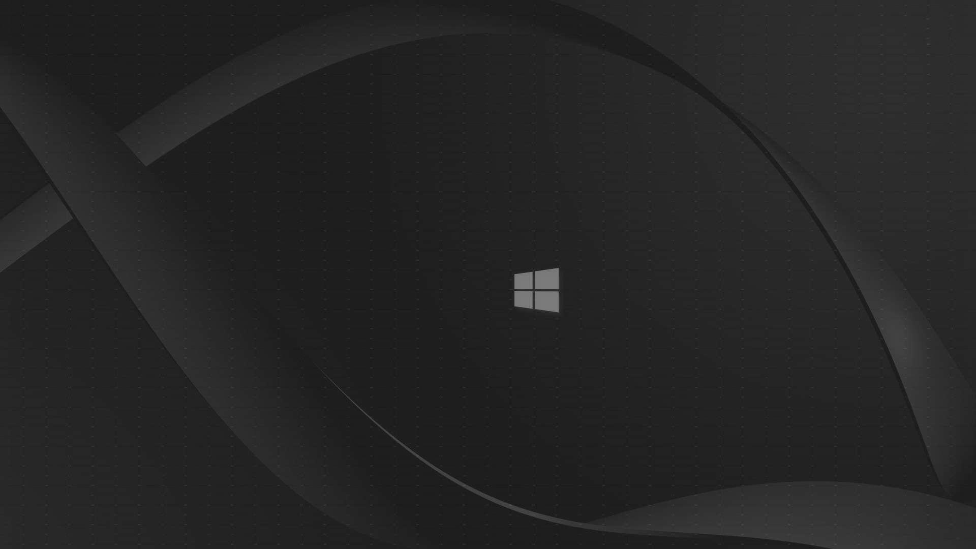Black Windows 10 Wallpaper 1080p Nosirix