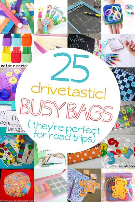 25 Busy Bag Ideas for Road Trips| hands on : as we grow