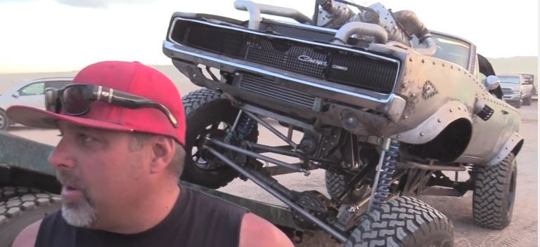 Welderup Overcharged Dodge Charger Rat Rod Busted Knuckle Films
