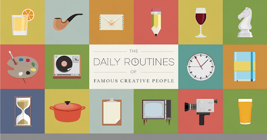 The Daily Routines of Famous Creative People | Podio