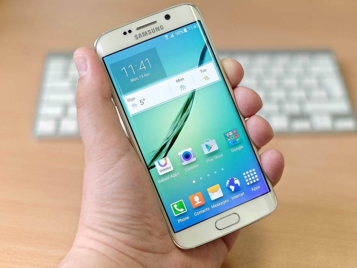 #7 Samsung Galaxy S6 Edge