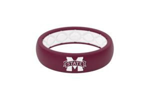Mississippi State Collegiate Silicone Rings   Groove Life