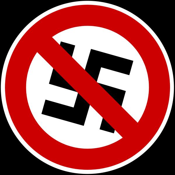 File:Hakenkreuz im Verbotsschild.svg