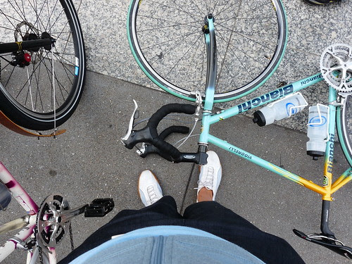 Omar's Bike Looks So Good At My Feet