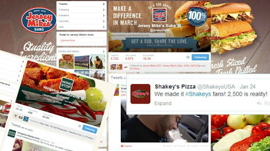 Franchises Using Twitter to Drive Positive Social Media Brand Marketing