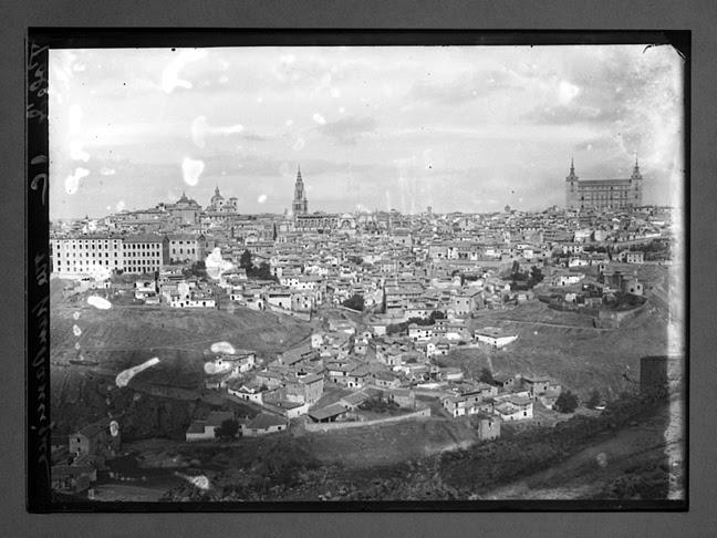Toledo hacia 1910. Fotografía de Charles Chusseau-Flaviens. Copyright © George Eastman House, Rochester, NY