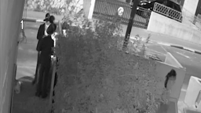 CCTV footage has captured neighbors vandalizing the gym in opposition to its presence.