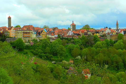 Rothenburg ob der Tauber - The Incredibly Long Journey