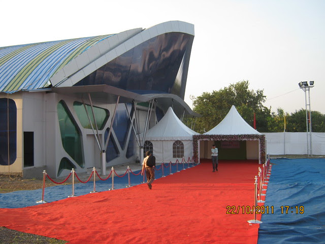 Entrance of CREDAI-PUNE METRO - PROFEST WEST 2011 - Exhibition of properties in Pune West