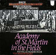 Neville Marriner conducts the Academy of St. Martin in the Fields (Philips LP box set cover)