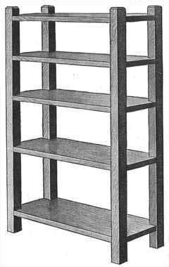 Magazine Rack/Bookshelf (With images) | Bookcase plans