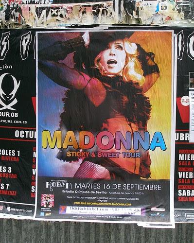 Madonna - Sticky & Sweet Tour 2008 - Andalucía