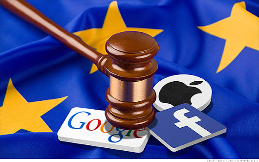 Europe vs. Apple, Facebook, Google and Amazon