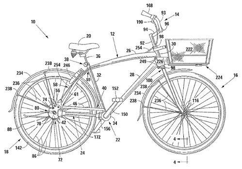 BikeShare Bike Patent