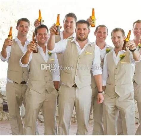 autumnspring groom wear beach wedding men suits