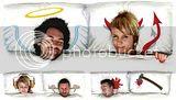 Travesseiros bem criativos