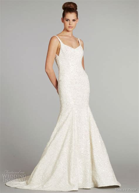 Hayley Paige Fall 2012 Wedding Dresses   Wedding Inspirasi