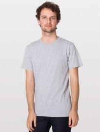 American Apparel Fine Jersey Short Sleeve T-shirt
