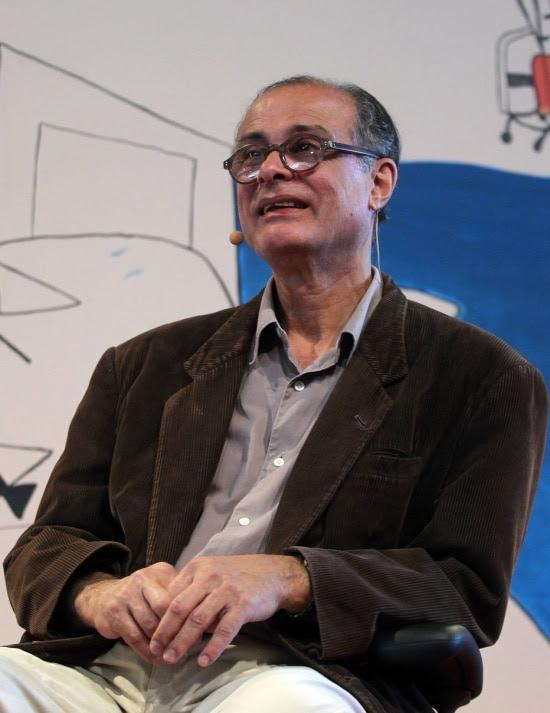 O cartunista Cássio Loredano lança livro e também abre exposição com suas paisagens favoritas